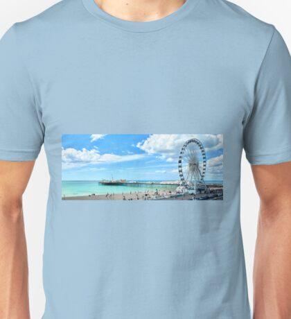 Brighton Wheel and Pier Unisex T-Shirt