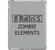 Brains Zombie Elements iPad Case/Skin