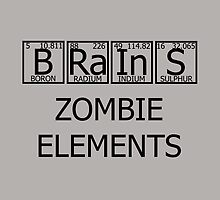 Brains Zombie Elements by Artsanity