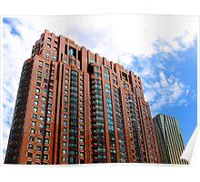 The Ochre building  - Kuala Lumpur, Malaysia. Poster