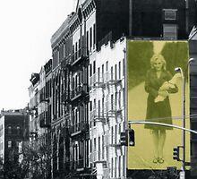 NYC - GAP Ad Featuring Sophie Dahl by gematrium