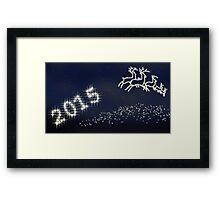 Happy New Year 2015 Framed Print