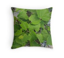 Leafs Throw Pillow