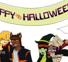 Happy Halloween From The Burners Sticker