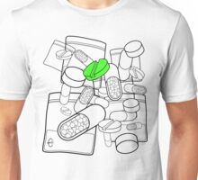 Green Pill Unisex T-Shirt