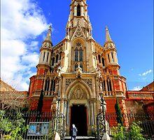 Church in Barcelona by John Lines