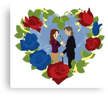 RxB Color Roses Canvas Print