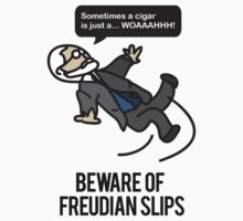 Beware of Freudian Slips One Piece - Short Sleeve