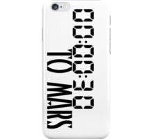 00:00:30 / 30 seconds to mars iPhone Case/Skin