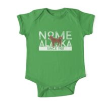 Nome Alaska Since 1901 One Piece - Short Sleeve