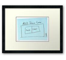 ADD Board Game Framed Print