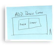 ADD Board Game Canvas Print