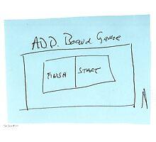 ADD Board Game Photographic Print