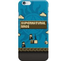 Supernatural Bros. iPhone Case/Skin