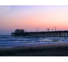 Newport Pier Photographic Print