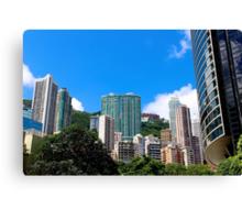 City of Colors IV - Hong Kong. Canvas Print