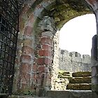 The Entrance to Totnes Castle by Martha Sherman