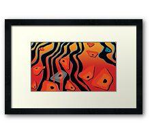Gondwana River Framed Print