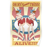 Siamese Twins! Poster