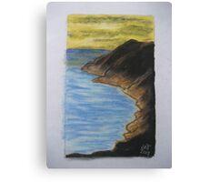 Smokey Mountian Canvas Print