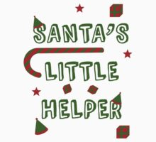 Santa's Little Helper Kids Tee