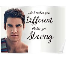 Darren Criss Quote Poster