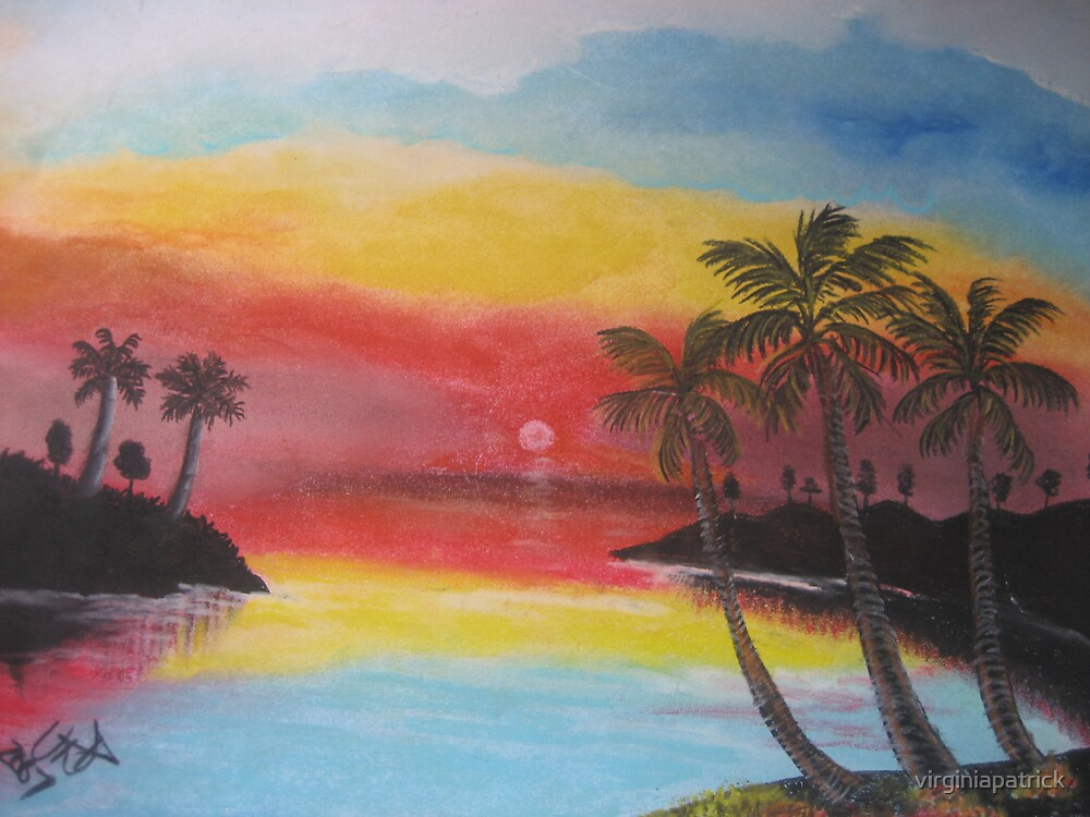 Tropical Evening by virginiapatrick