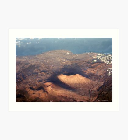 Lanzarote- Land of the Volcanoe Art Print