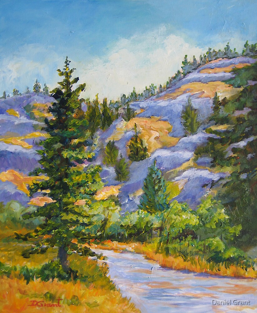 Blue Hills  by Daniel Grant