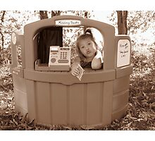 Kissing Booth Photographic Print