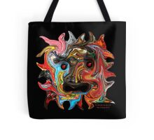 Tile Mask Tote Bag