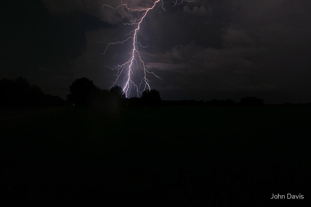 LIGHTNING CRASHES by John Davis