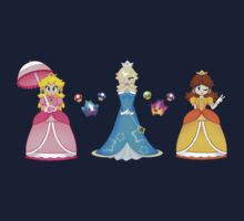 Super Mario Girls by Brit Eddy