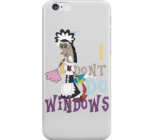 Discord - I Don't Do Windows iPhone Case/Skin