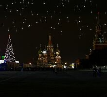 Christmas Time at Red Square by Jon Ayres