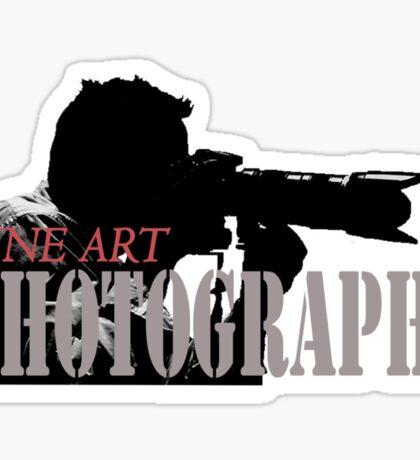 Fine Art Photography Sticker