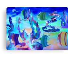 Life Aquatic. Canvas Print