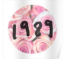 1989 (Floral) Poster