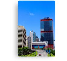 City of Colors V - Hong Kong. Canvas Print
