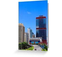 City of Colors V - Hong Kong. Greeting Card