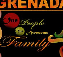 I Love Grenada The Isle of Spice by Malinda @ Cherrytwiss Art & Fashion House