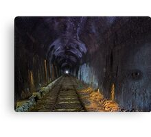 The Tunnel Canvas Print