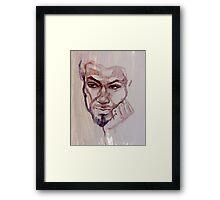 Portrait of Lester Framed Print