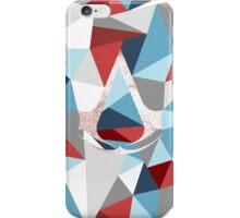 Assassin's creed polygon iPhone Case/Skin