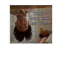 What's happenin', hot stuff? - Long Duk Dong - Sixteen Candles Photographic Print