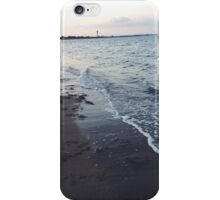 beach waves iPhone Case/Skin
