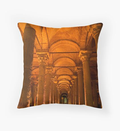 BASILICA CISTERN Throw Pillow