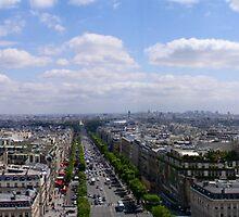 Paris Cityscape by Ponder