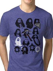 In the Company of Dwarves Tri-blend T-Shirt