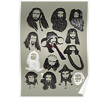 In the Company of Dwarves Poster